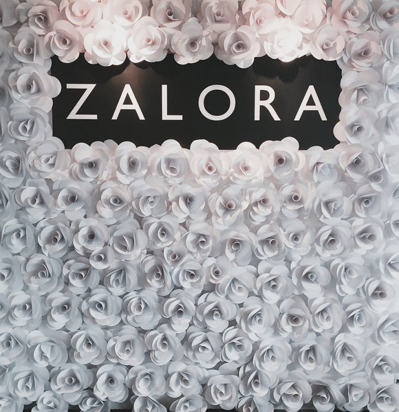 Paper Flower Backdrop Rose For The Wedding Singapore
