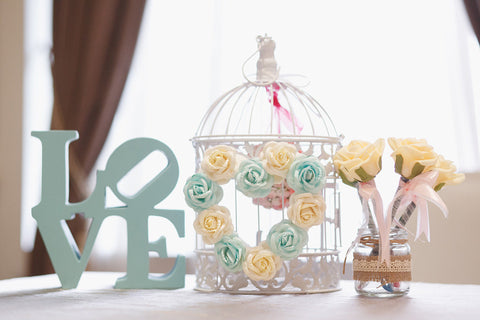Small Bird Cage with Hanging Pomander