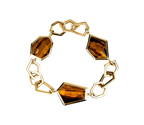Euclid Tiger Eye Bracelet