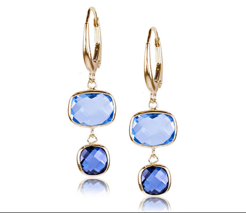 Sky & London Blue Topaz Earring