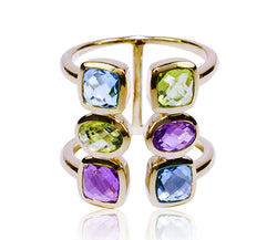 Multi-Gemstone Ring