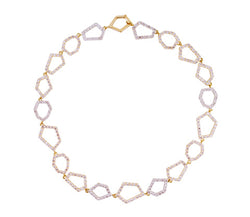 Euclid Link Diamond Necklace
