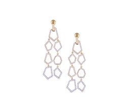 Euclid Link Diamond Earrings