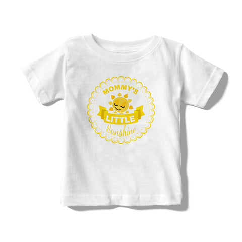 Mommy's Little Sunshine Message Baby/Toddler Tees