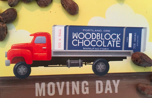 We Are Moving our chocolate manufactory to a new facility about a mile away!