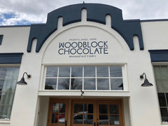 Woodblock Chocolate store front