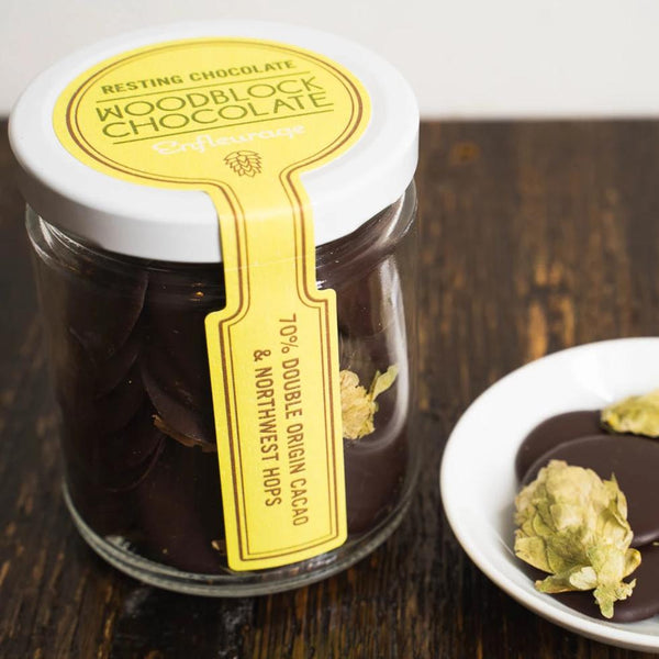 Enfleurage Resting Chocolate™ - Northwest Hops & 70% Double Origin