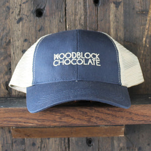 Woodblock Chocolate Ball Cap!
