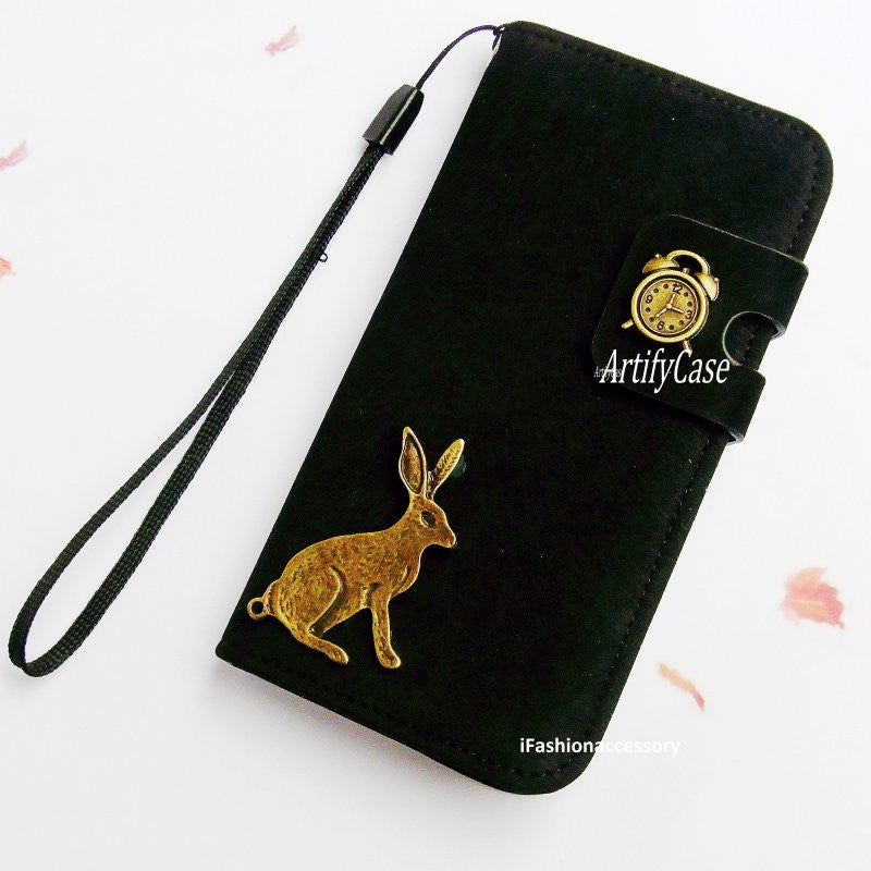 wholesale dealer 6e698 68934 Rabbit iPhone 6 case, Samsung galaxy S5 wallet, leather iPhone 5 ...