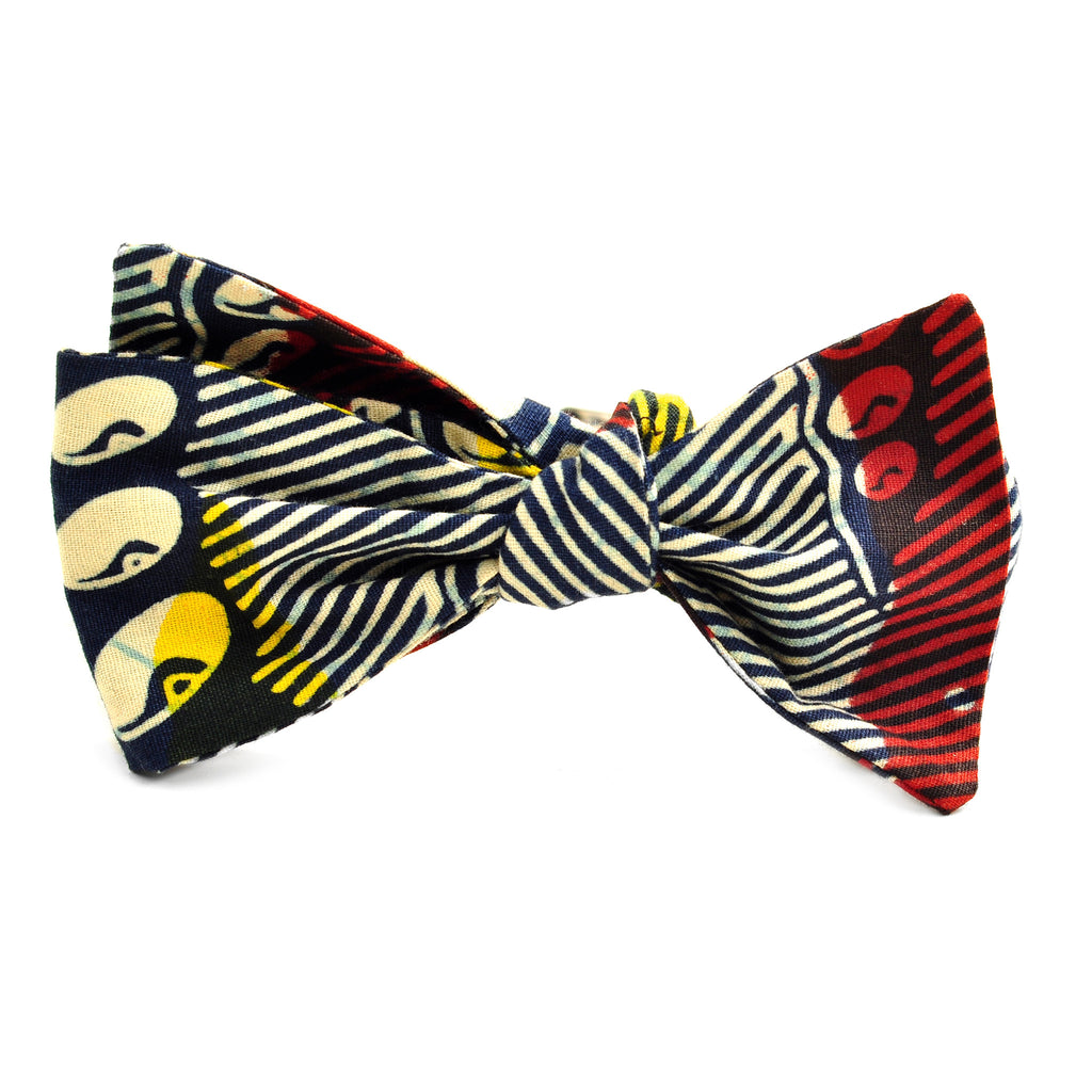 Mbuya Untied Bow Tie