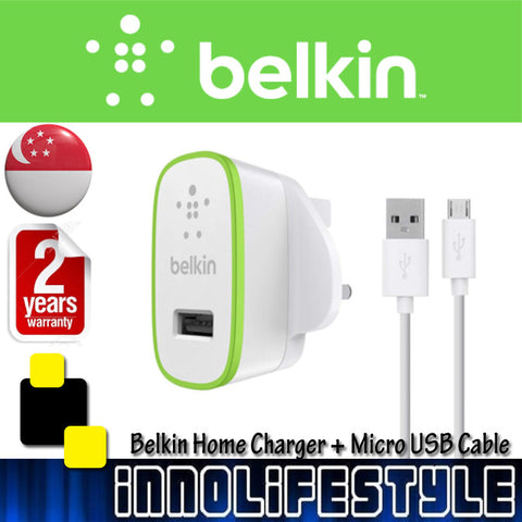 Belkin Universal Home Charger with Micro USB ChargeSync Cable
