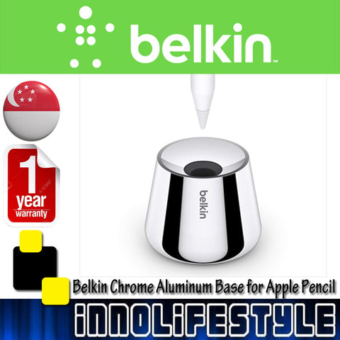 Belkin Chrome Aluminum Base for Apple Pencil