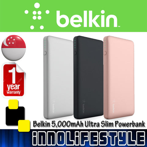 Belkin 5000mAh Durable Ultra Slim Powerbank