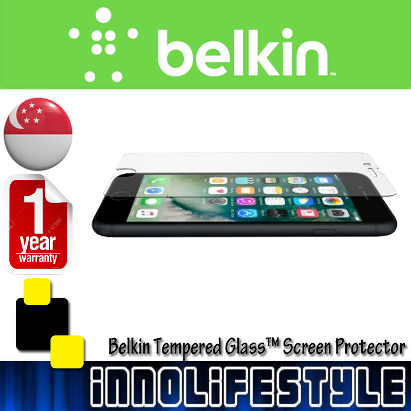 Belkin ScreenForce® Tempered Glass™ Screen Protector for iPhone 7 / 7 Plus