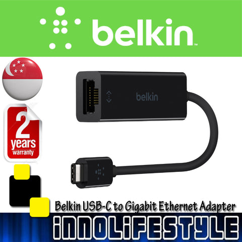 Belkin USB-C Gigabit Ethernet Adaptor