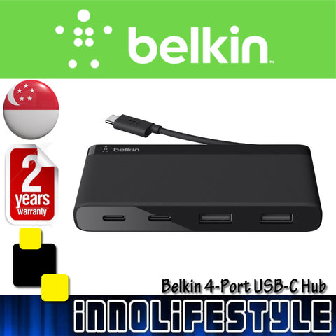 Belkin USB-C 4-Port Mini Hub