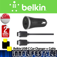 Belkin USB-C Car Charger + USB-C Cable ★2 Years Warranty★