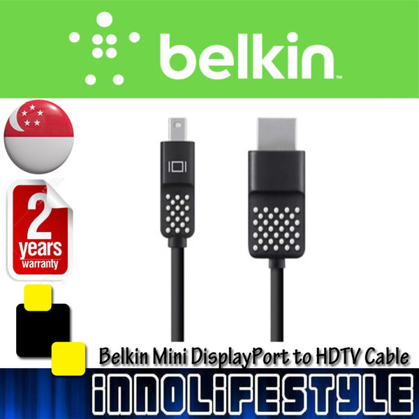Belkin 4K Compatible Mini DisplayPort to HDTV Cable