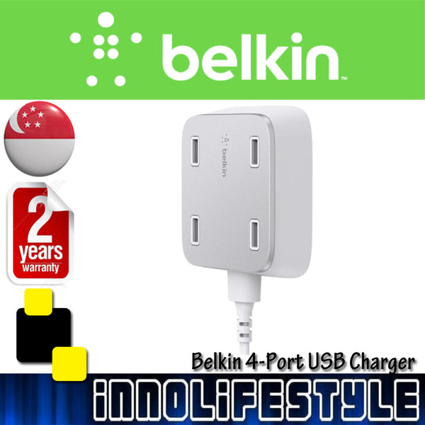 Belkin Family RockStar 4-Port USB Charger