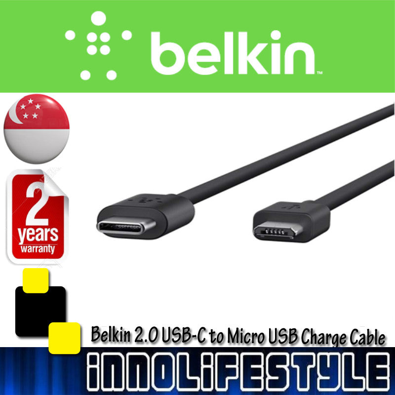 Belkin 2.0 USB-C to Micro USB Charge Cable