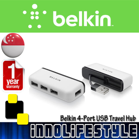 Belkin 4-Port USB Travel Hub