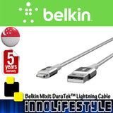 Belkin Mixit DuraTek™ Premium Lightning Cable. ★5 Years Warranty★