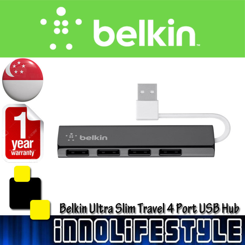 Belkin Ultra Slim Travel USB Hub