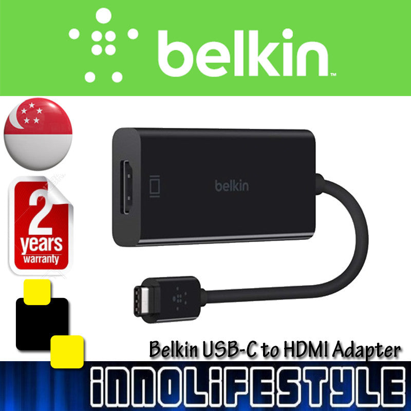 Belkin USB-C to HDMI Adapter ★2 Years Warranty★