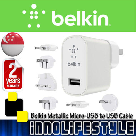 Belkin Global Travel 2.4AMP USB Charging Kit