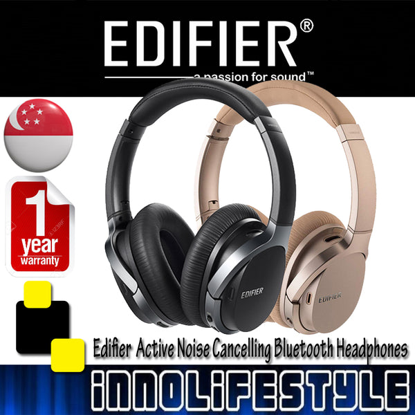 Edifier W860NB Active Noise Cancelling Bluetooth Headphone ★1 Year Warranty★