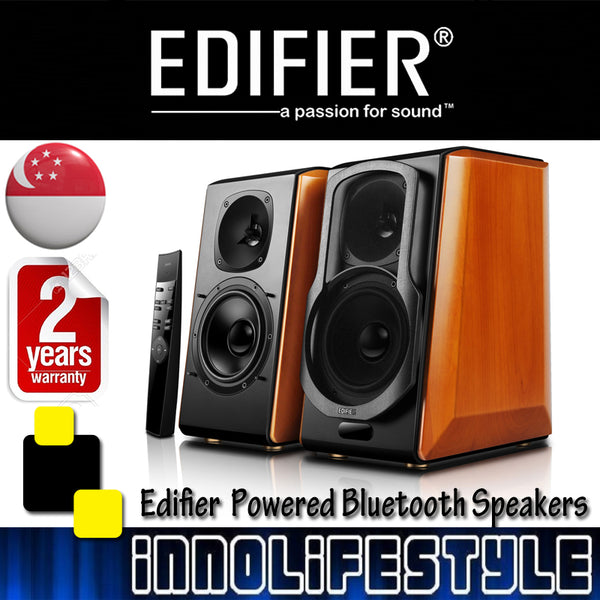 ★GSS Sales★ Edifier S2000 Pro 124w RMS Powered Bluetooth Bookshelf Speakers ★2 Years Warranty★