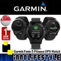 Garmin Fenix 5 Multisport Fitness GPS watch ★1 Years Warranty★