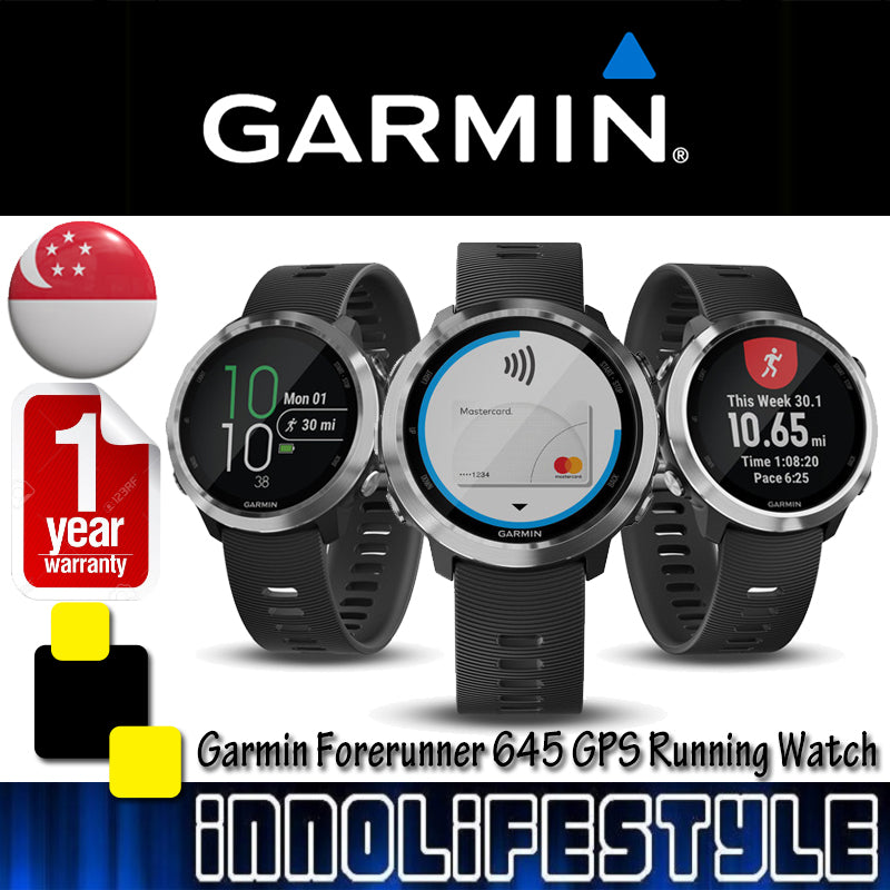 Garmin Forerunner 645 GPS Running Watch with Heart Rate Monitor ★1 Year Warranty★