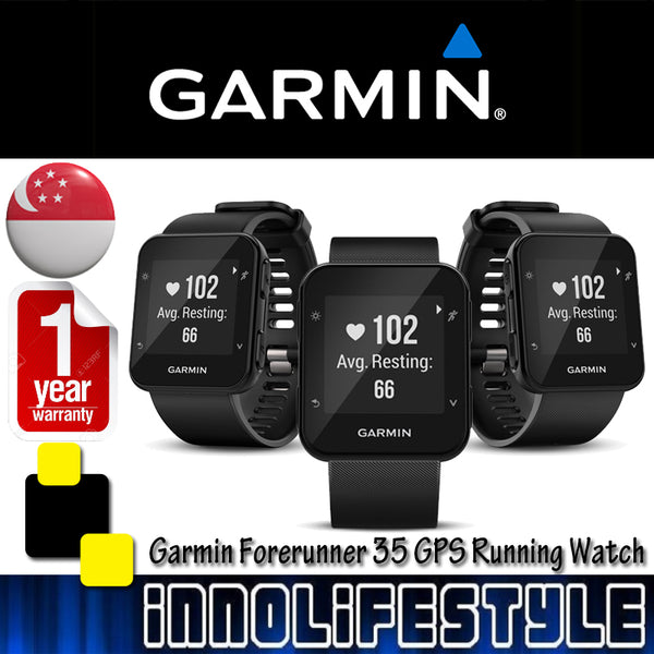 Garmin Forerunner 35 GPS Running Watch with Heart-Rate Monitor ★1 Year Warranty★