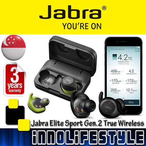 Jabra 2017 Elite Sport Version 2 True Wireless Sport Earbuds