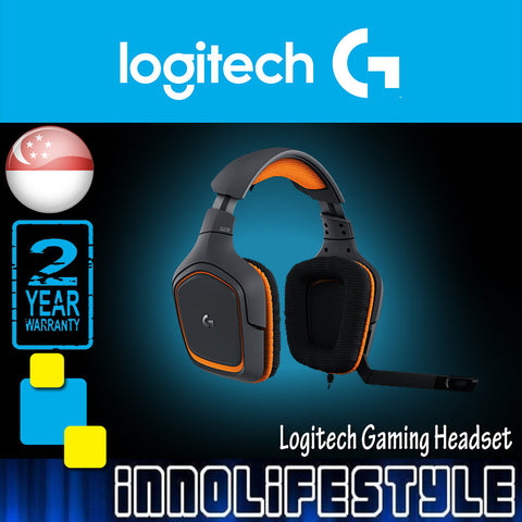 Logitech G231 Prodigy Gaming Headset ★3 Years Warranty★