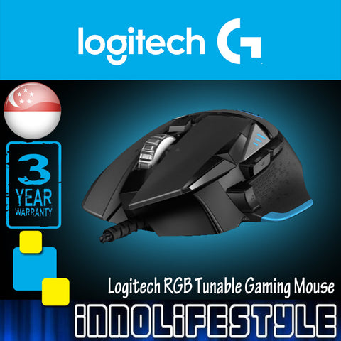 Logitech G502 Proteus Spectrum RGB Tunable Gaming Mouse ★3 Years Warranty★