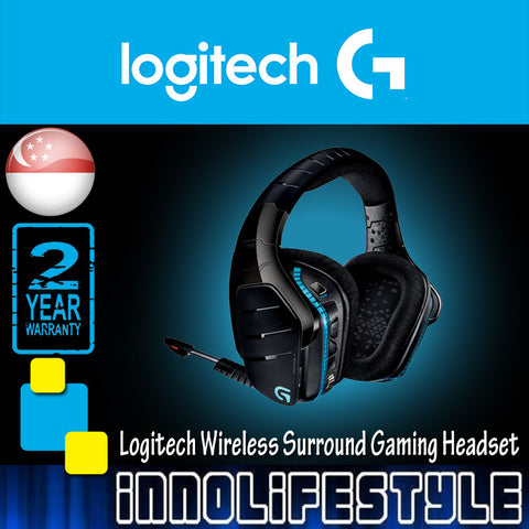 Logitech G933 Wireless 7.1 Surround Gaming Headset ★2 Years Warranty★