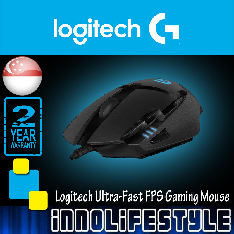 Logitech G402 Hyperion Fury Ultra-Fast FPS Gaming Mouse ★2 Years Warranty★