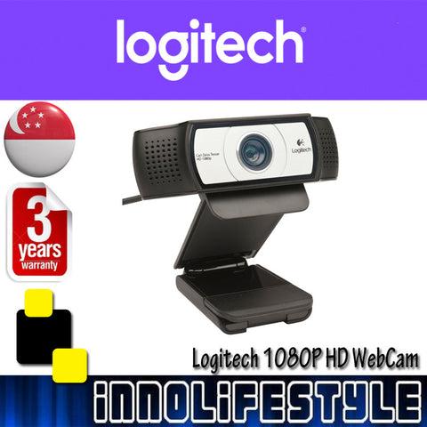 Logitech C930e 1080p HD USB Webcam ★3 Years Warranty★