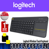 Logitech K400Plus Wireless Touch Keyboard ★1 Year Warranty★