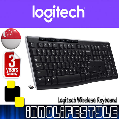 Logitech K270 Wireless Keyboard ★3 Years Warranty★