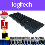 Logitech K830 Illuminated Wireless Living Room Keyboard ★1 Year Warranty★