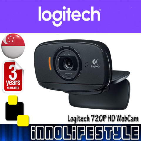 Logitech B525 720p HD WebCam with AutoFocus ★3 Years Warranty★