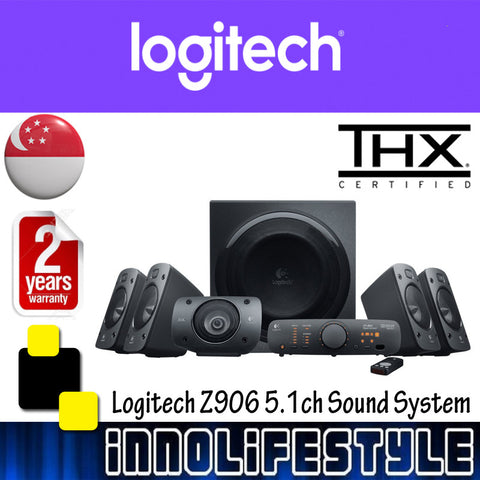Logitech Z906 5.1ch Surround Speaker System ★2 Years Warranty★
