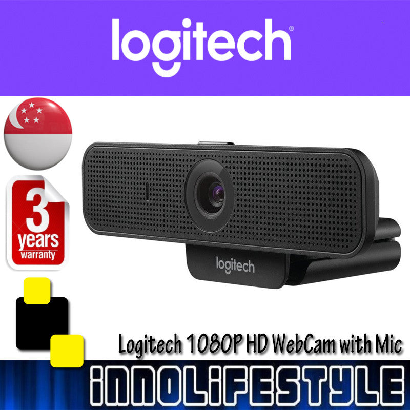 Logitech C925e HD 1080p Webcam with Built-In Stereo Microphones ★3 Years Warranty★