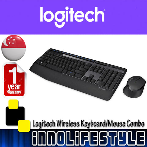 Logitech MK345 Wireless Keyboard and Mouse Combo ★1 Year Warranty★