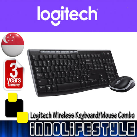 Logitech MK270r 2.4Ghz Wireless Desktop Mouse and Keyboard Combo ★3 Years Warranty★