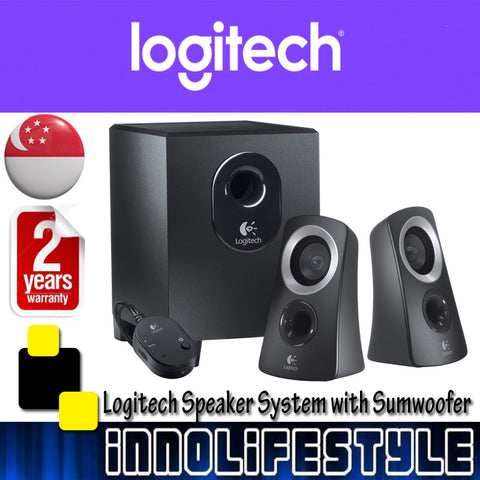 Logitech Z313 Speaker System with Subwoofer ★2 Years Warranty★