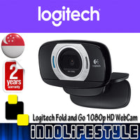 Logitech HD Laptop Webcam C615 with Fold-and-Go Design ★2 Years Warranty★